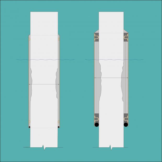 Reparationsalternativ baserat på sektionsförlust